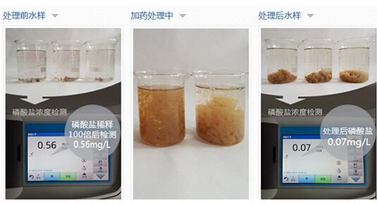 生活污水去总磷除磷剂
